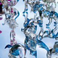 Hand-Blown Glass Figurines