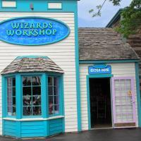 Wizards Workshop front entrance