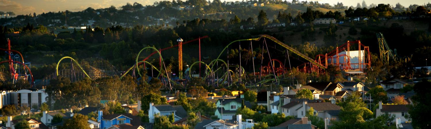 Six Flags Discovery Kingdom is host to thrills and family fun.