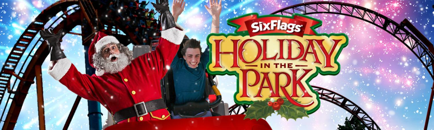 Holiday in the Park at Six Flags Fiesta Texas