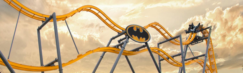 BATMAN: The Ride 4D Fly Coaster