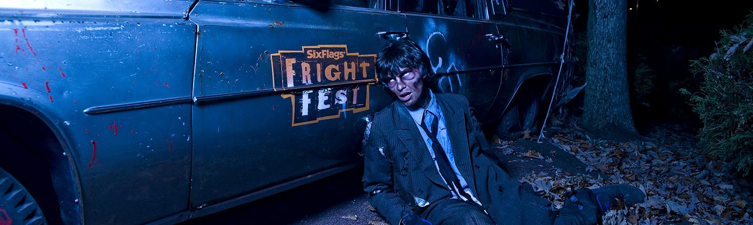 Zombie at Fright Fest.