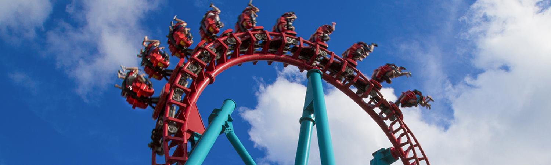 Mind Eraser at Six Flags New England