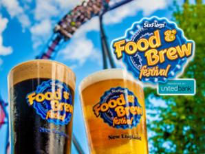 Food and Brew Festival at Six Flags New England