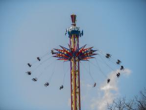 Skyscreamer swing ride