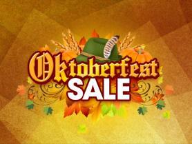 Oktoberfest sale graphic