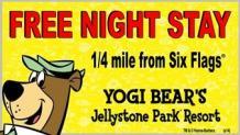 Jellystone Park Resort special offer