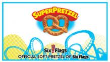 SuperPretzel Six Flags logo