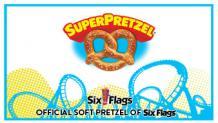 SuperPretzel Six Flags logo