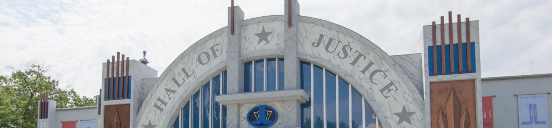 JUSTICE LEAGUE: Battle For Metropolis Ride