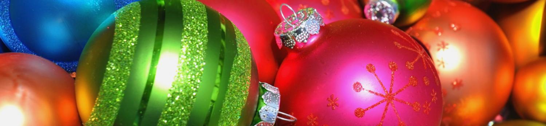An assortment of ornaments.