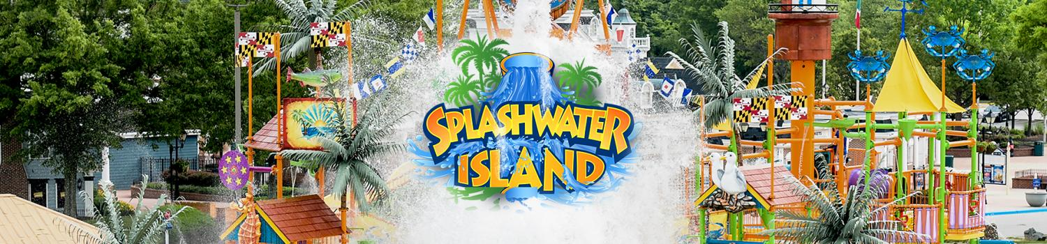 Splashwater Island at Hurricane Harbor Concord