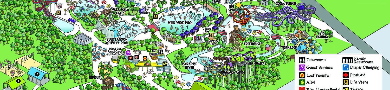 Splashtown Map