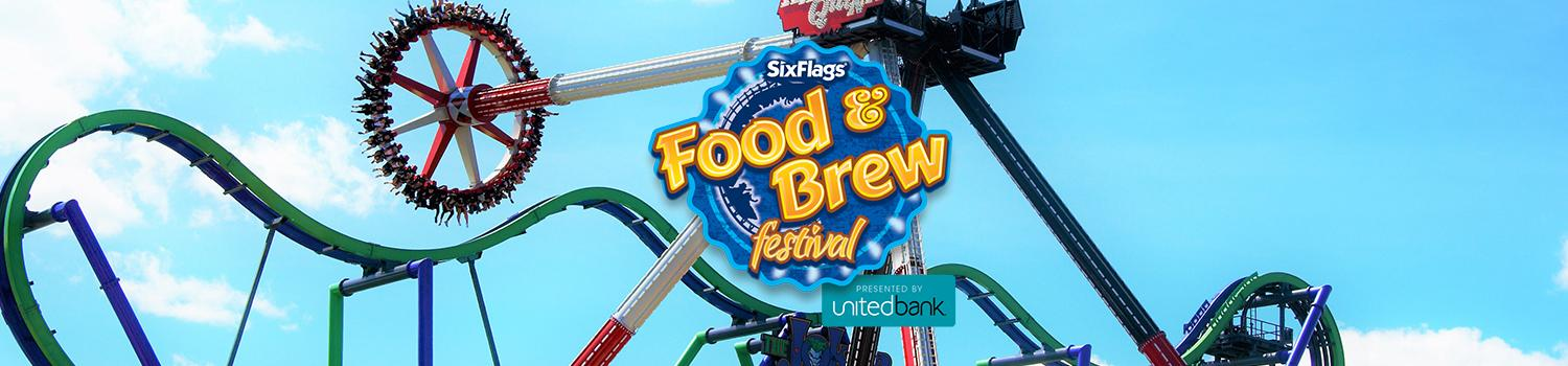 Food & Brew Festival at Six Flags New England