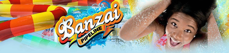 Banzai Pipeline ride Banner