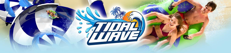 Tidal waver ride banner