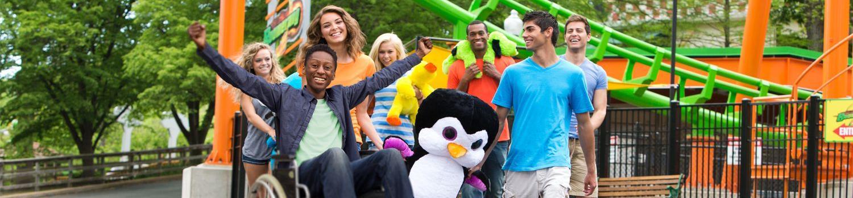Teens enjoying the park