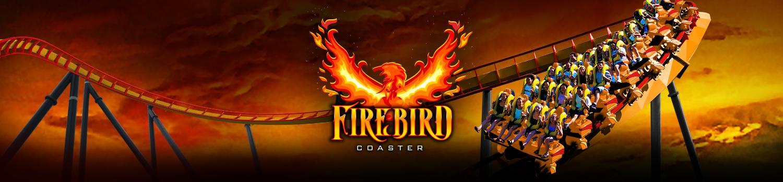 FIREBIRD coaster banner