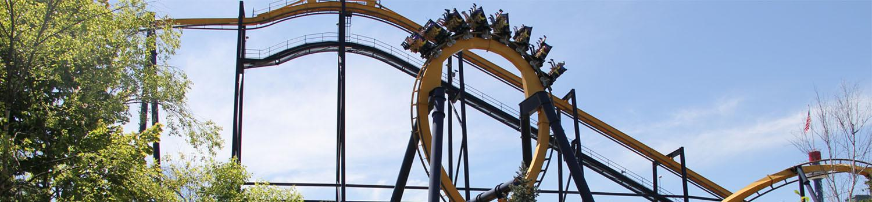BATMAN The Ride loop