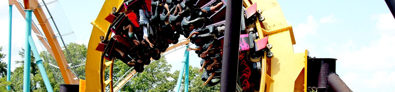 Georgia Scorcher Roller Coaster