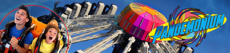 Pandemonium ride at The Great Escape