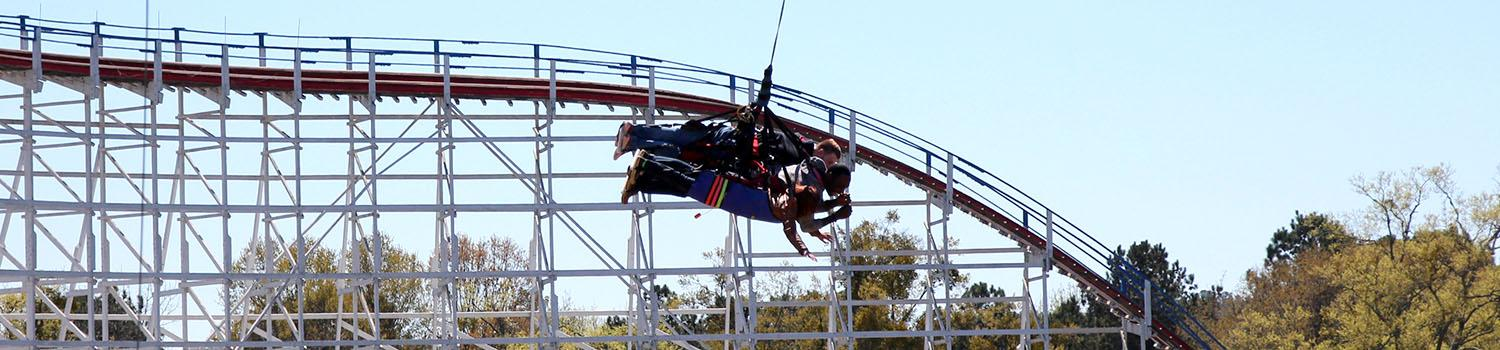 Guest on SkyCoaster