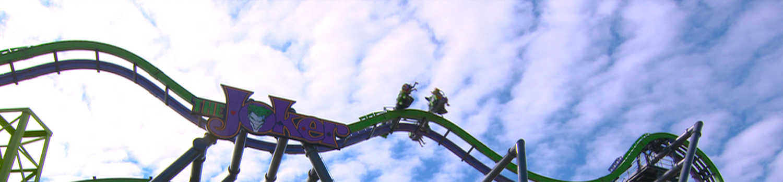 the joker coaster wide