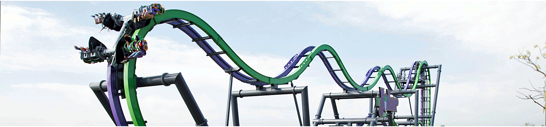 THE JOKER coaster track