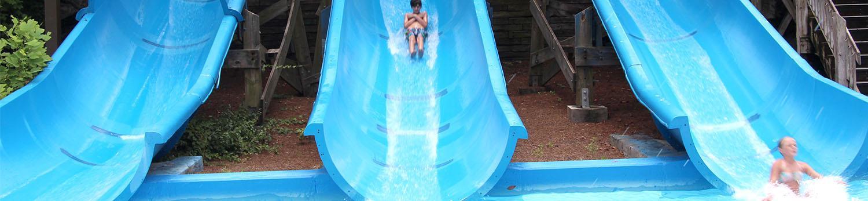 Three-Slide Body Flume