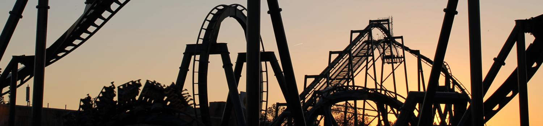 Batman at sunset.