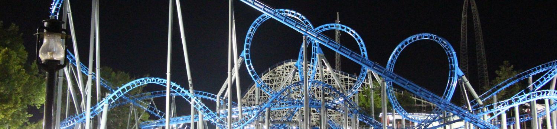 blue hawk at night
