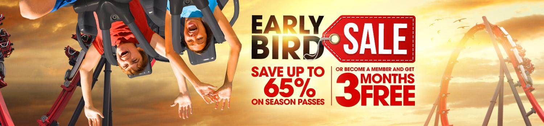 Early Bird Sale Banner