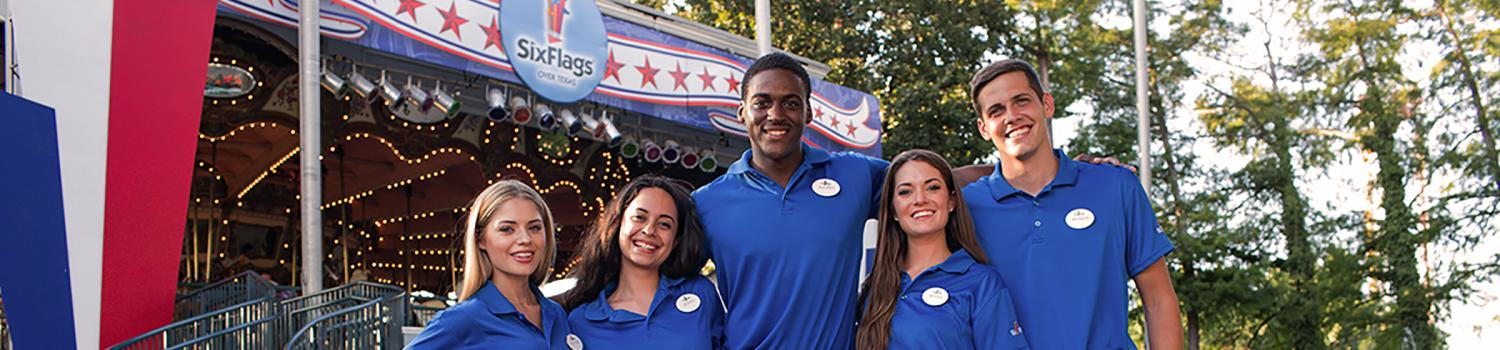 Group of Six Flags Employees