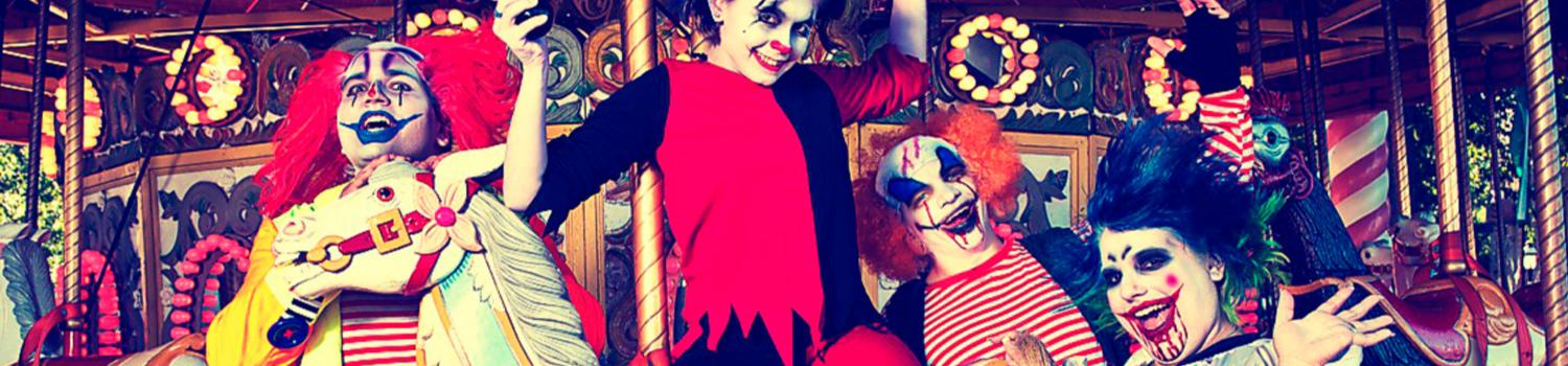 Fright Fest Clown Ghouls