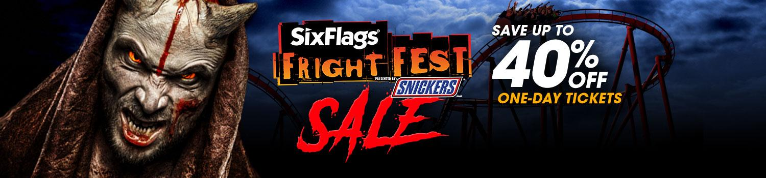 Save on Fright Fest Tickets