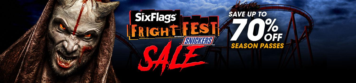 Save during our Fright Sale