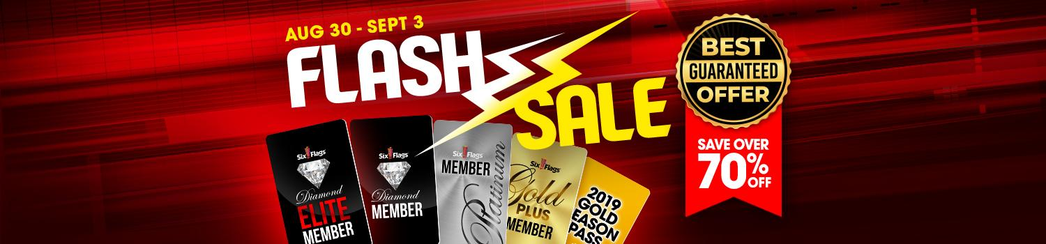 Flash sale 2018 vip sale six flags magic mountain for Flash sale sites for home