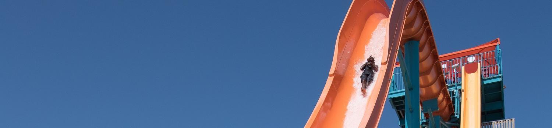 Sliding down the Geronimo slide