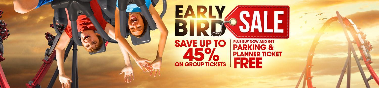 Early Bird Membership Sale Banner