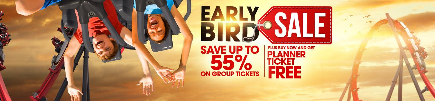 Early Bird Sale Banner