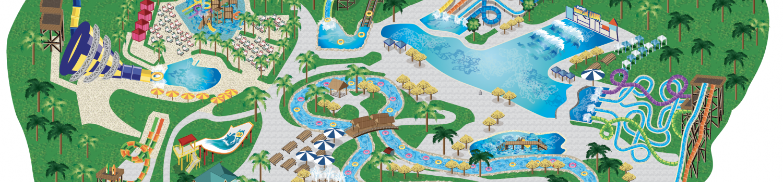 Six Flags Hurricane Harbor Concord Park Map