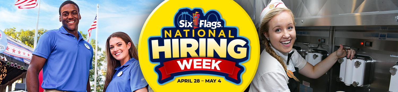 National Hiring Week at Six Flags