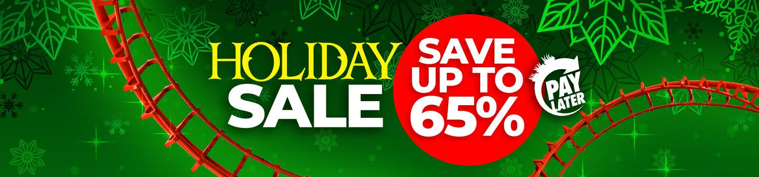 Save during our Holiday Sale