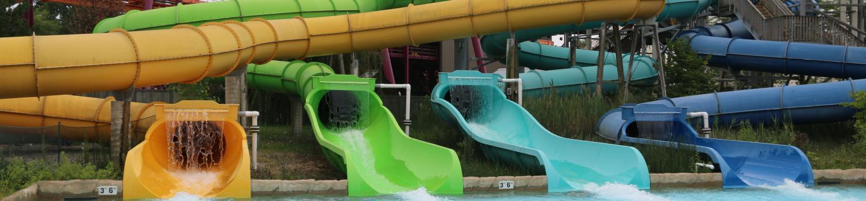 Hurricane Mountain Water slides and Raging Bull