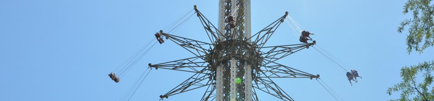 People riding the Texas SkyScreamer