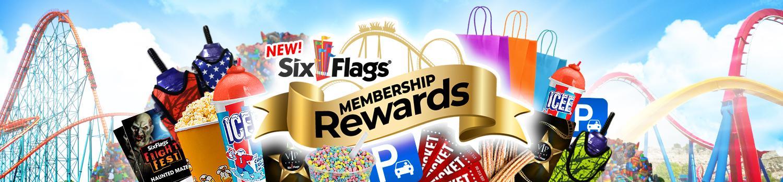 Six Flags Membership Rewards | Six Flags Magic Mountain