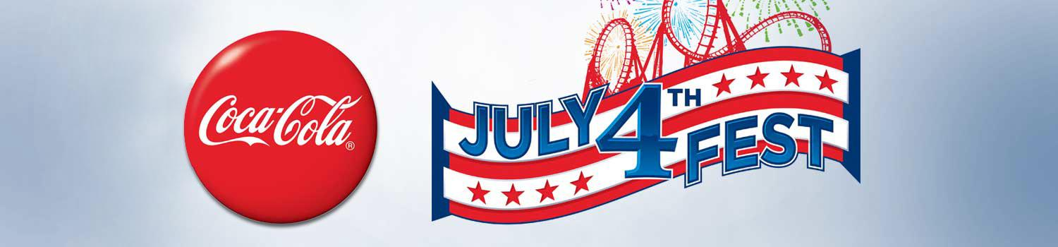 July 4th Fest event logo