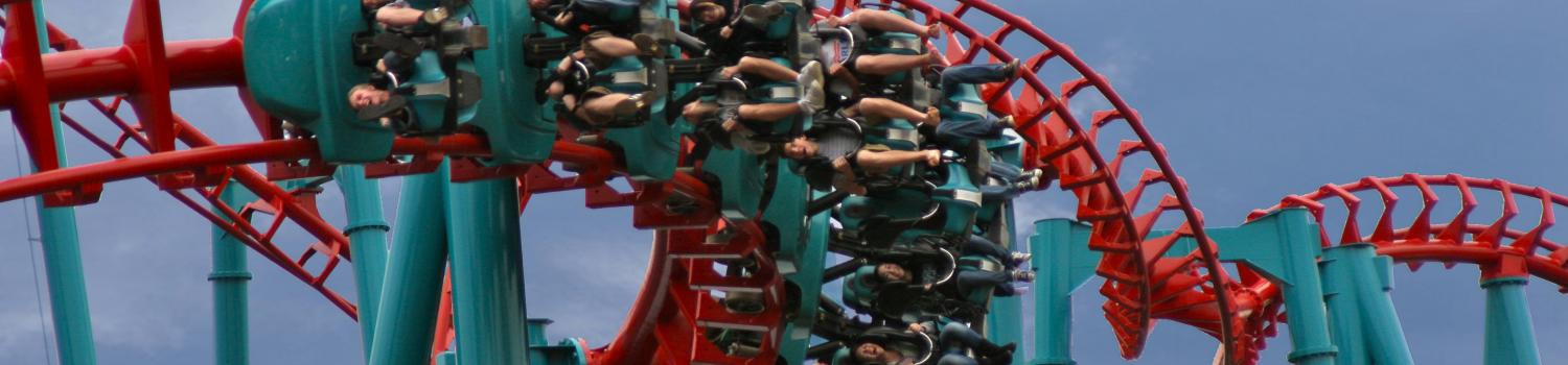 Guests riding Mind Eraser