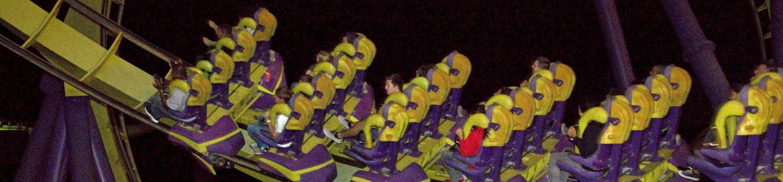 Night ride on Medusa