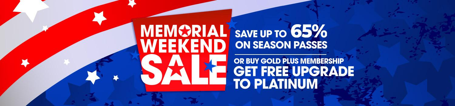 Save during our Memorial Weekend Sale